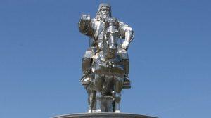 อนุสาวรีย์ เจงกิสข่าน รำลึกนักรบผู้ยิ่งใหญ่แห่งมองโกล