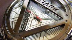นาฬิกาสุดเท่ ลวดลายอาร์ครีแอคเตอร์ 3 สี จาก Iron man 3