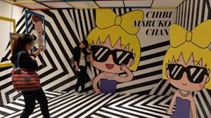 ฉลองครบรอบ 25 ปีกับงานแสดงสินค้าของสาวน้อย Chibi Maruko