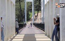 """""""สะพานเชื่อมใจ""""แหล่งท่องเที่ยวแห่งใหม่รับลมหนาว"""