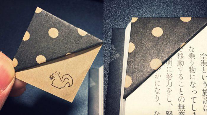 DIY ที่คั่นมุมหนังสือ ทำไว้ใช้เองง่ายๆ
