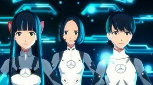 สามสาว Perfume กลายเป็นตัวละครอนิเมะ 3D ในแคมเปญของ Mercedes-Benz