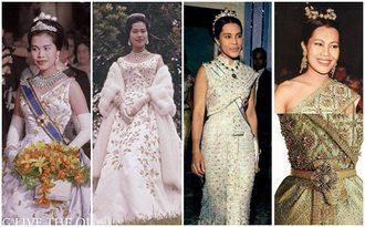 20 ฉลองพระองค์ ของ พระราชินี สวยงดงาม จนติดอันดับสตรีที่แต่งพระองค์งามที่สุด
