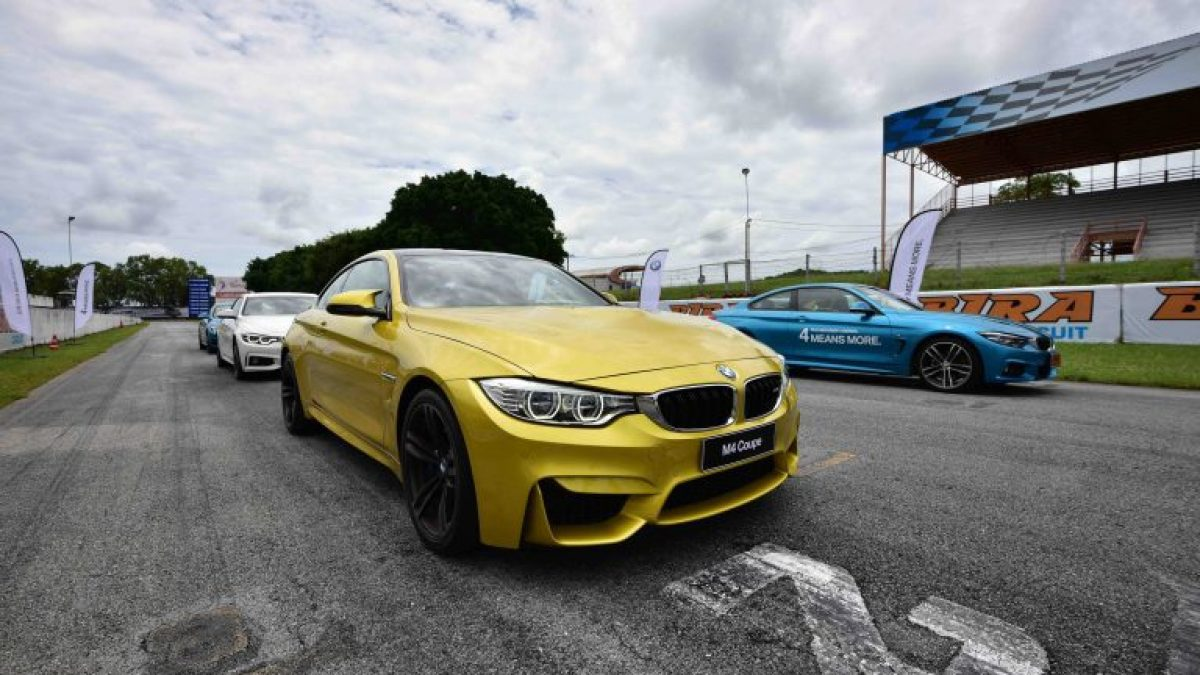 เปิดประสบการณ์ Test Drive BMW Series 4 แบบมันส์ๆ ที่สนามพีระเซอร์กิต