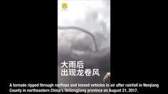 ไต้ฝุ่นฮาโตะ, พายุทอร์นาโด, ข่าวจีน, ข่าวสดวันนี้