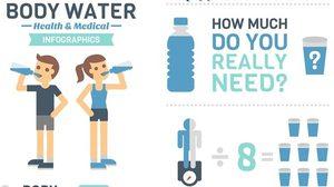 มาดู น้ำเท่าไหร่ ที่ร่างกายคุณต้องการ