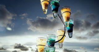 ็ช็อตนี้สิเด็ด ! A Tribute to Yellow & Blue Mojito รับรองปาร์ตี้คืนนี้มีฟิน !