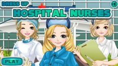 เกมส์แต่งตัวคุณหมอและ นางพยาบาล Doctors and Nurses Dress up