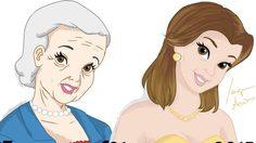 ถ้าเจ้าหญิงดิสนีย์มีอายุมากขึ้น