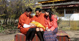 เผยพระรูปของพระราชโอรสแห่งภูฏานอย่างเป็นทางการ