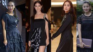 5 ดาราสาว กับ แฟชั่นเดรสสีดำ สวย เรียบง่าย ดูดี ในชุดเดียวจบ