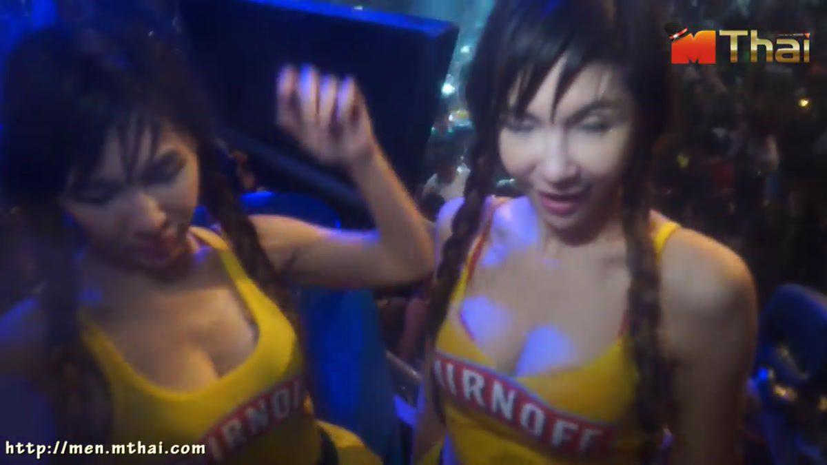 สาวเล่นน้ำสงกรานต์ RCA Slim&Onyx Songkran Festival Thailand 2014