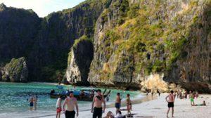 เที่ยว เกาะพีพี ทะเลแหวก อ่าวไร่เลย์ และอ่าวมาหยา
