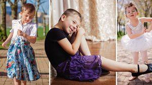 คุณแม่ถ่ายภาพลูกชาย วัย 5 ขวบสวมกระโปรง หวังสร้างแรงบันดาลใจให้พ่อแม่เข้าใจลูก
