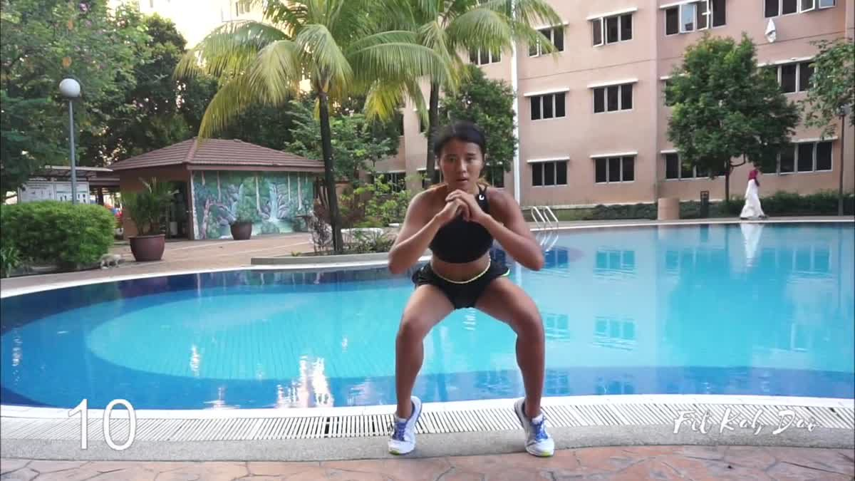 3 QUICK HIIT WORKOUT โดย Fit Kab Dao