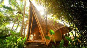 ธรรมชาติกว่านี้มีอีกไหม? หมู่บ้านไม้ไผ่ ดีไซน์สุดชิค บน เกาะบาหลี