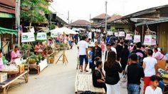 สุโขทัย ชวนเที่ยว ตลาดริมยม ตลาดน้ำเก่าแก่ของไทย และพบแพ็กเกจสุดประหยัด ในงานเที่ยวเมืองไทย 56
