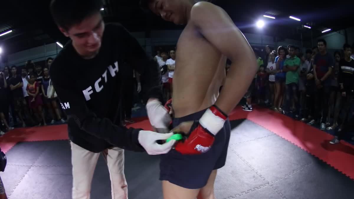 Fight Club Thailand ใต้ดิน Est Daimaru x Few HK คู่ที่ 107