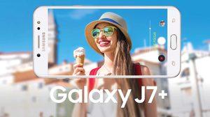 Samsung เปิดตัว Galaxy J7+ สเปคจัดเต็ม มาพร้อมกล้องหลังคู่ และกล้องหน้า 16 ล้าน