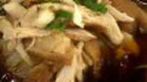 เมนู ก๋วยเตี๋ยวไก่ตุ๋นมะระ ซุปเข้มข้นหอมหวาน