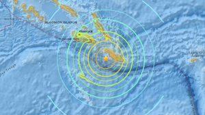 ยกเลิกคำเตือนสึนามิหลังแผ่นดินไหว 7.8 หมู่เกาะโซโลมอน