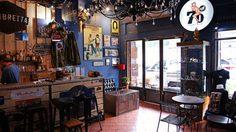 Lambretta Café มุมชิลชาวสกูตเตอร์ที่ถนนพระสุเมรุ