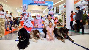 """บอย ปกรณ์ ควง น้องวันใหม่ ตะลุยอาณาจักรเพื่อนรักสี่ขา ในงาน """"The Mall Dog Town 2019"""""""