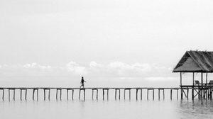 ภาพถ่ายทิวทัศน์ แบบ minimalism ผลงานของ Hengki Koentjoro