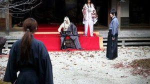 การถ่ายทำ Rurouni Kenshin พร้อมเผยเครื่องแต่งกายของ Shishio