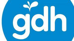 เปิดตัวโลโก้! GDH 559 อักษรสีขาว วงกลมสีฟ้า และต้นกล้าแห่งการเริ่มต้น
