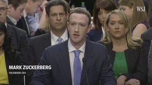 มาร์ค กล่าวขอโทษกลางสภาคองเกรส กรณีข้อมูล Facebook รั่ว 87 ล้านราย
