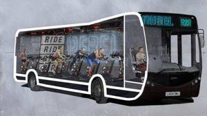 รถบัสออกกำลังกาย Ride 2 Rebel ออกกำลังกายได้ไม่เว้นแม้เวลาเดินทาง