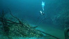 มหัศจรรย์ คลองใต้น้ำ ซีโนเต้ แองเจลิสต้า ประเทศเม็กซิโก