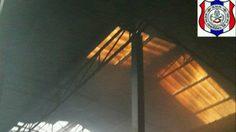 ระทึก! ไฟไหม้โกดังเก็บสินค้าสาธุประดิษฐ์ 57 โชคดีไร้เจ็บ