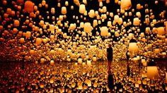 Digital Art Museum แลนด์มาร์คแห่งใหม่ของโตเกียว สัมผัสศิลปะไร้พรมแดน