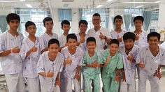 สิ่งที่ผมประทับใจเด็กๆ ทีมหมูป่า หมอภาคย์และทีมหมูป่า