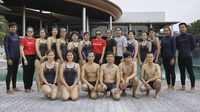 'หมอนอิง' ควง 'เงือกฟ้า' ร่วมสอนว่ายน้ำคนหูหนวกในกิจกรรม Speedo Swim Generation 2018