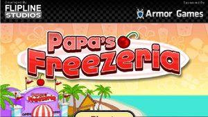 เกมส์ทำอาหาร Papas Freezeria July