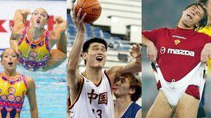 ภาพหลุดนักกีฬา สุดฮา ไม่ดู พลาด!!