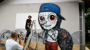 graffiti, ศิลปะ, ข่าวจังหวัดกระบี่