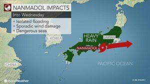 Nanmadol, พายุไต่ฝุ่น, ข่าวญี่ปุ่น