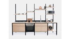 ชุดห้องครัวสำเร็จรูป ปรับแต่ง โยกย้ายตำแหน่งได้ตามต้องการ นวัตกรรมสำหรับครัวยุคนี้