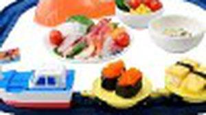 Toy set brings magic of revolving sushi  ทำซูชิ กันเถอะ