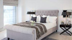 ไอเดียตัวอย่าง ไอเดีย แต่งห้องนอน โทน สีเทา ให้สวยดูมีสไตล์