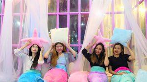 Mermaid island Cafe คาเฟ่นางเงือกที่แรกของเมืองไทย โลกนี้มีแต่สีชมพู!