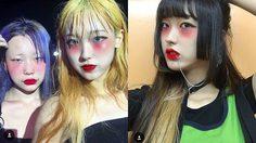 วัยรุ่นญี่ปุ่น แห่แต่งหน้าเทรนด์ใหม่ ปัดใต้ตา-โหนกแก้ม แดงฉ่ำๆ
