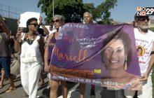 ชาวบราซิลประท้วงกรณีสมาชิกสภาเสียชีวิต