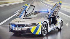 สาธารณรัฐเช็กส่ง BMW i8 เข้าประกวดในฐานะรถตำรวจทางหลวง!