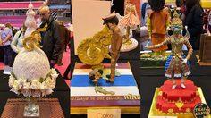 """อลังการมาก """"เค้กไทย"""" คว้ารางวัลโลก งาน Cake international"""