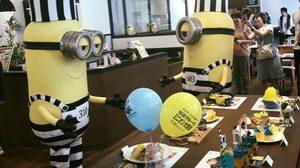 เบลโล่! เปิดตัวคาเฟ่มินเนี่ยน 'Minion's Great Escape Cafe' 5 เมืองในญี่ปุ่น